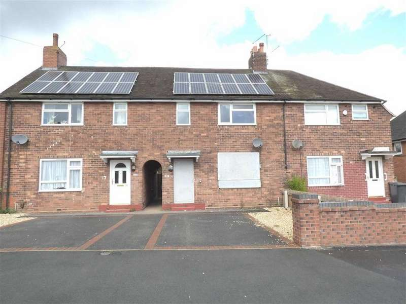 2 Bedrooms Terraced House for sale in St Bernards Road, Knutton, Newcastle-under-Lyme