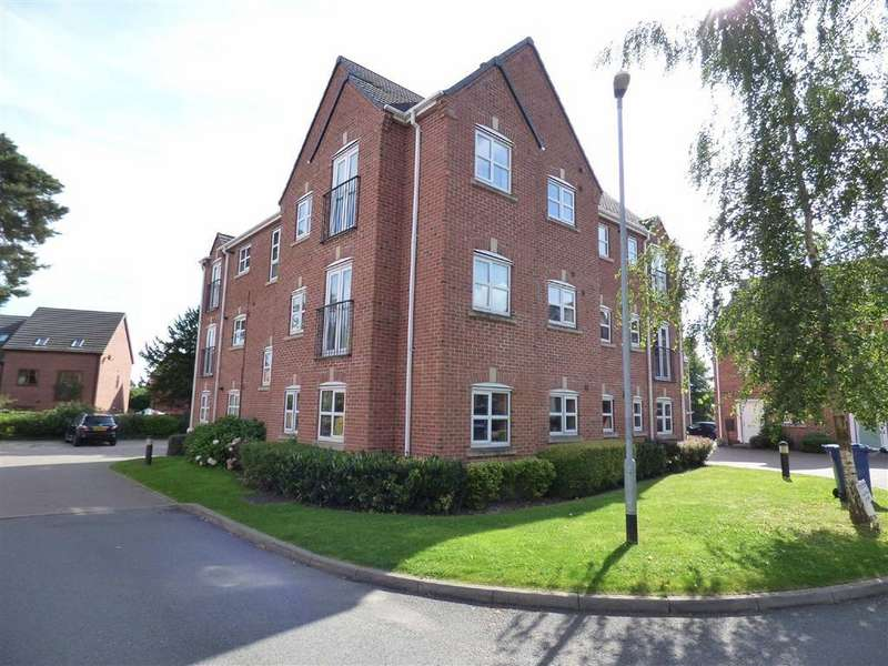 2 Bedrooms Apartment Flat for sale in Old Lodge Close, Uttoxeter