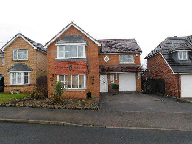 4 Bedrooms Detached House for sale in ABBOTS GREEN, WILLINGTON, BISHOP AUCKLAND