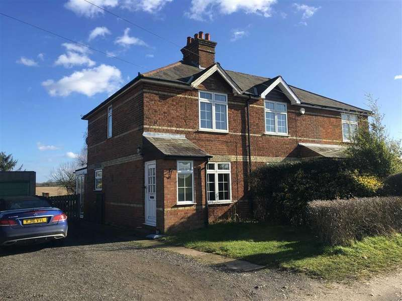 2 Bedrooms Semi Detached House for sale in Almshoebury Cottages, St Ippolyts, SG4