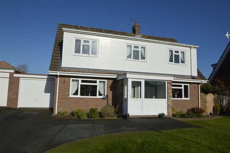3 Bedrooms Detached House for sale in 5 Stilton Close, Radbrook, Shrewsbury SY3 9BT