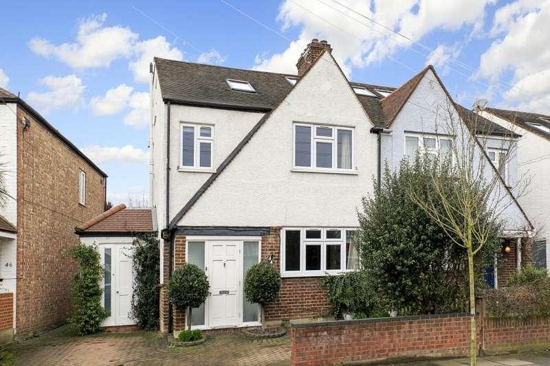 4 Bedrooms Semi Detached House for sale in Tennyson Avenue, Twickenham, TW1