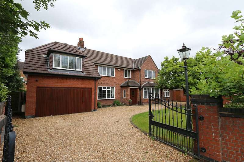 6 Bedrooms Detached House for sale in Common Lane, Culcheth, Warrington, Cheshire, WA3 4HD