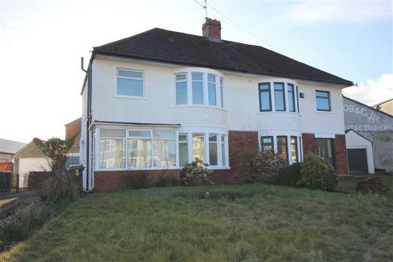 3 Bedrooms Semi Detached House for rent in St Fagans Close, Fairwater, Cardiff