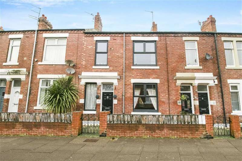3 Bedrooms Terraced House for sale in Lansdowne Terrace, North Shields, Tyne And Wear