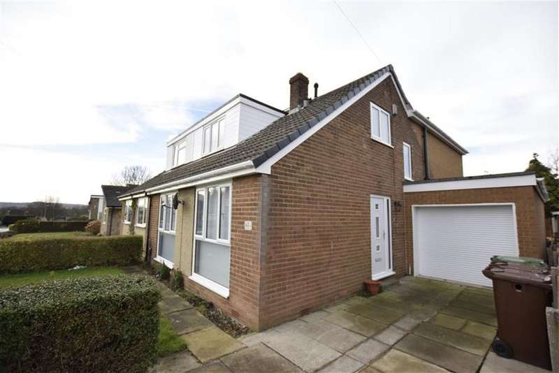4 Bedrooms Semi Detached Bungalow for sale in Lennox Drive, Lupset Park, WAKEFIELD, WF2