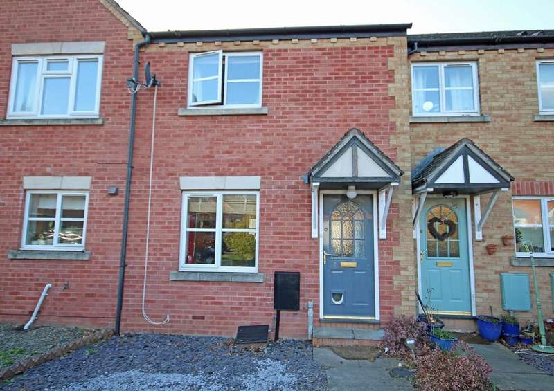 2 Bedrooms Terraced House for sale in Viking Way, Ledbury, HR8