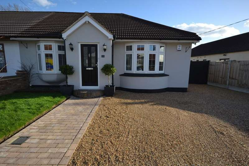 3 Bedrooms Semi Detached Bungalow for sale in Pembroke Avenue, Corringham, Stanford-le-Hope, SS17