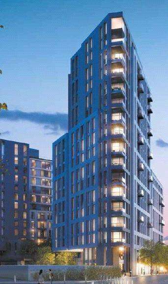 3 Bedrooms Flat for sale in Lancaster House, Sovereign Court, 47 Beadon Road, London, W6