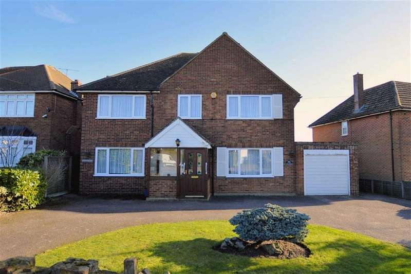 4 Bedrooms Detached House for sale in Epping Green Road, Epping Green