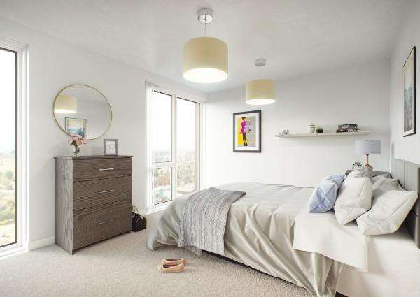 1 Bedroom Property for sale in Bridgewater Wharf Apartments, Salford, M5 3NG