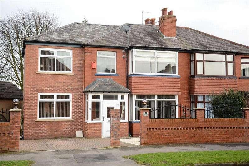 5 Bedrooms Semi Detached House for sale in Arlington Road, Oakwood, Leeds