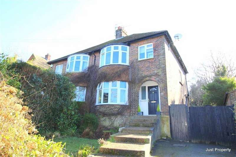 3 Bedrooms Semi Detached House for sale in Hoads Wood Road, Hastings