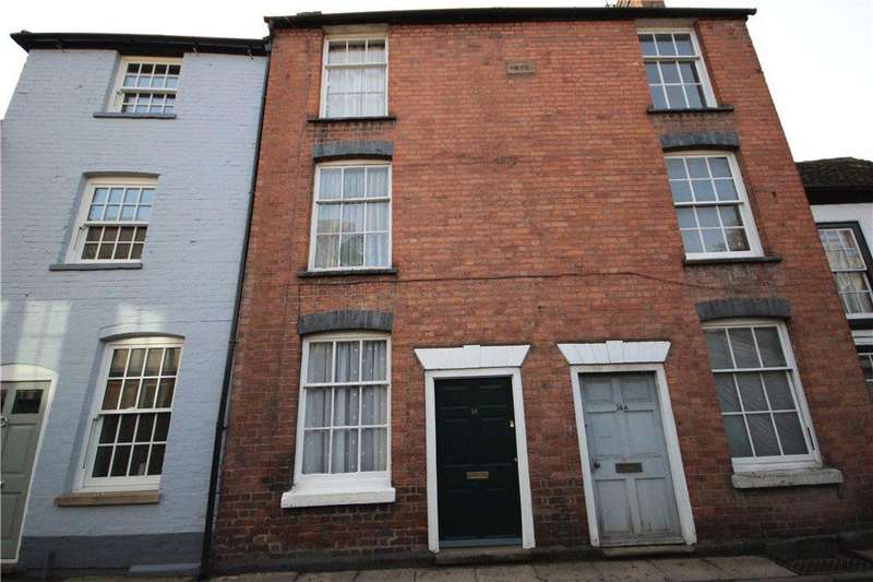 2 Bedrooms Terraced House for sale in Bell Lane, Ludlow, Shropshire, SY8
