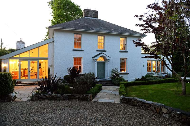 4 Bedrooms Detached House for sale in Church Hill House, Treffgarne, Haverfordwest, Pembrokeshire