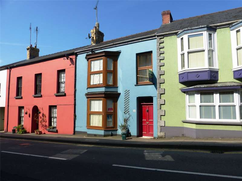 3 Bedrooms Terraced House for sale in Suffolk House, Market Street, Narberth, Pembrokeshire