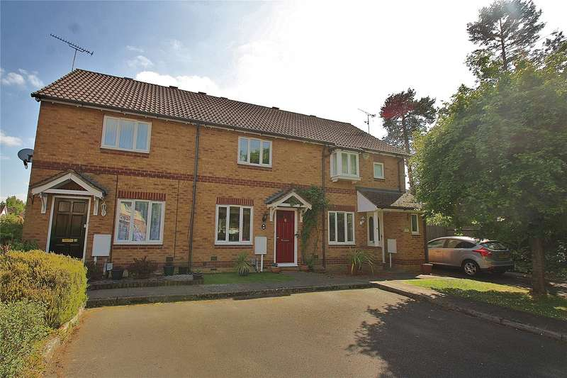 2 Bedrooms Terraced House for sale in Percheron Drive, Knaphill, Woking, Surrey, GU21