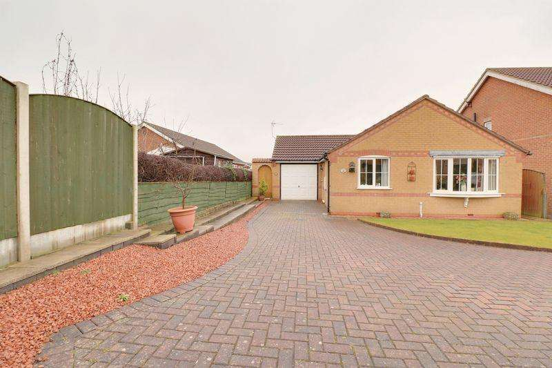 2 Bedrooms Detached Bungalow for sale in Appleyard Drive, Barton-Upon-Humber