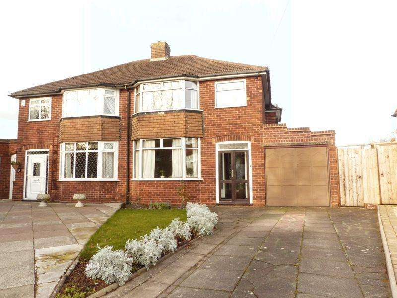 3 Bedrooms Semi Detached House for sale in Crest View, Streetly