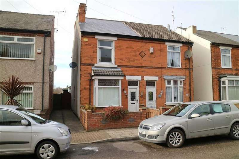 2 Bedrooms Semi Detached House for sale in Queen Street, Sutton In Ashfield, Notts, NG17