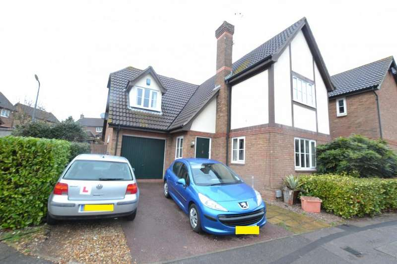 4 Bedrooms Detached House for sale in Froden Close, Billericay, Essex, CM11