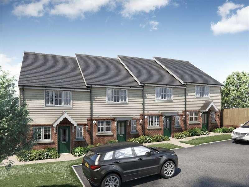 2 Bedrooms Terraced House for sale in Plot 4 - The Osprey, Herschel Place, Highgate Hill, Hawkhurst, TN18