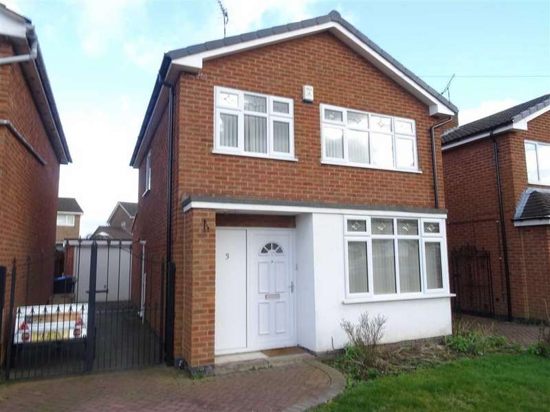 3 Bedrooms Detached House for sale in Brechin Close, Hinckley