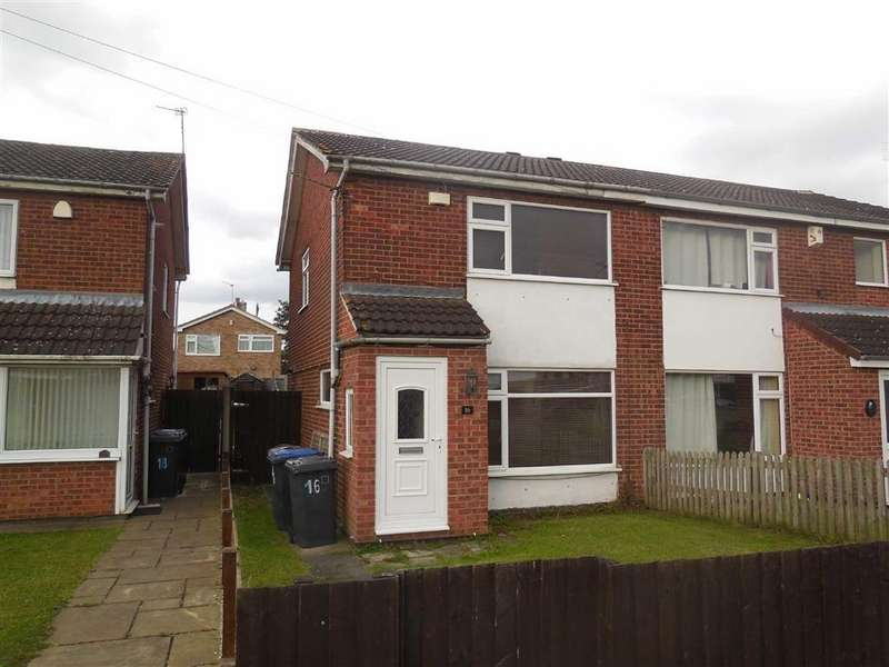 2 Bedrooms Semi Detached House for sale in Lochmore Drive, Hinckley