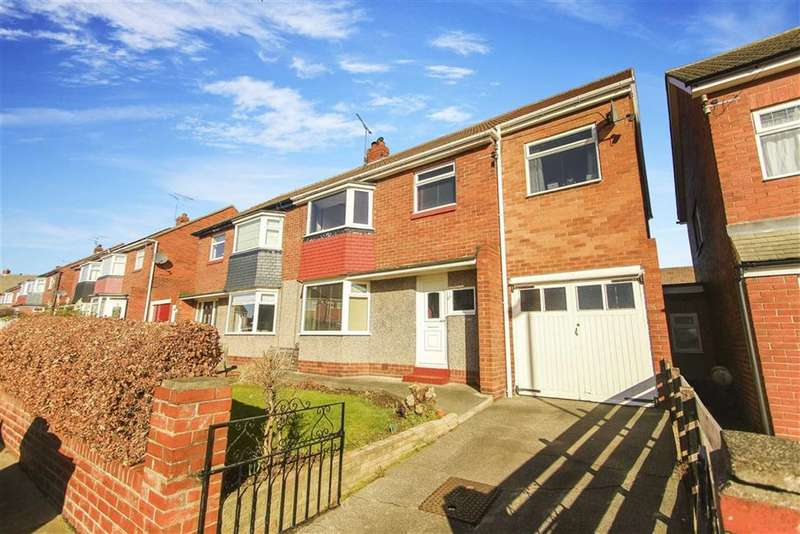 4 Bedrooms Semi Detached House for sale in Frankland Drive, Whitley Bay, Tyne And Wear