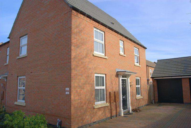 3 Bedrooms End Of Terrace House for sale in Tamworth Close, Grantham