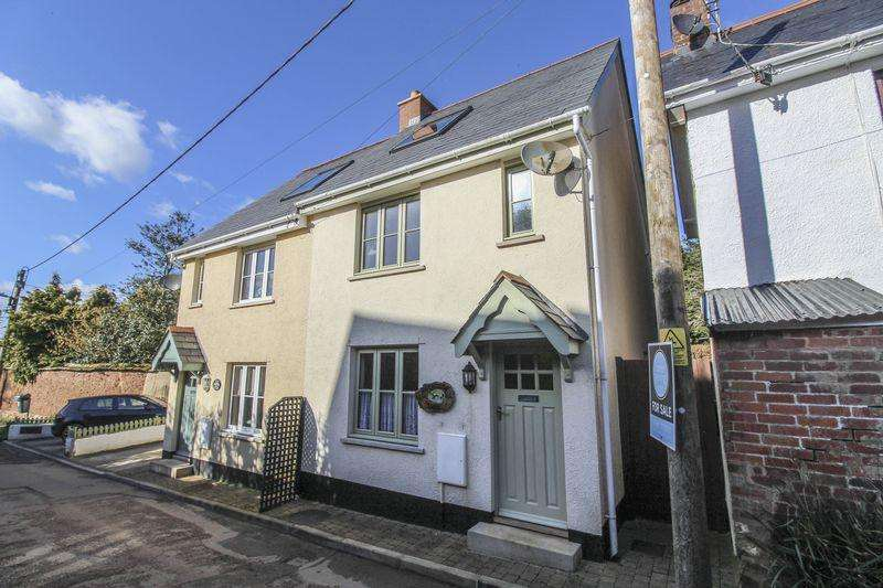 3 Bedrooms Semi Detached House for sale in Doormouse Cottage, Cheriton Fitzpaine, Crediton