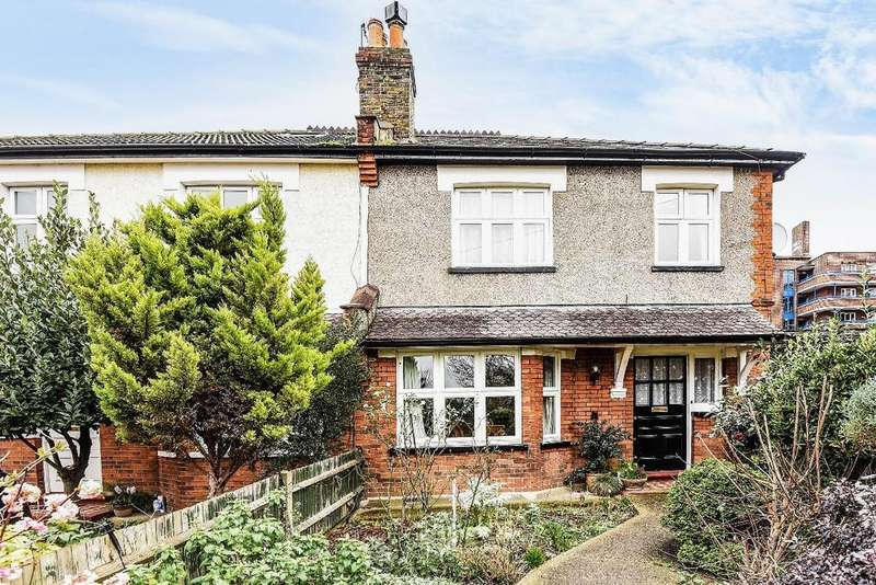 4 Bedrooms Semi Detached House for sale in Cobham Road, Kingston upon Thames