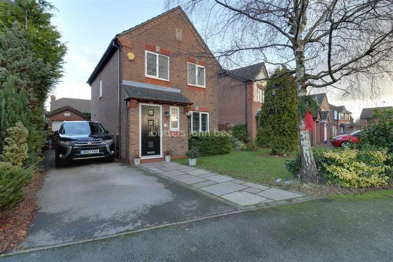 3 Bedrooms Detached House for sale in Bridgemere Way, Northwich