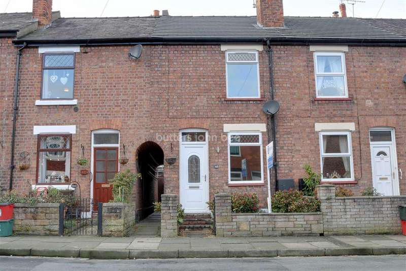 2 Bedrooms Terraced House for sale in Winnington, Northwich