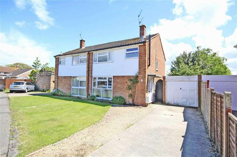 3 Bedrooms Semi Detached House for sale in Crown Drive, Bishops Cleeve, Cheltenham, GL52