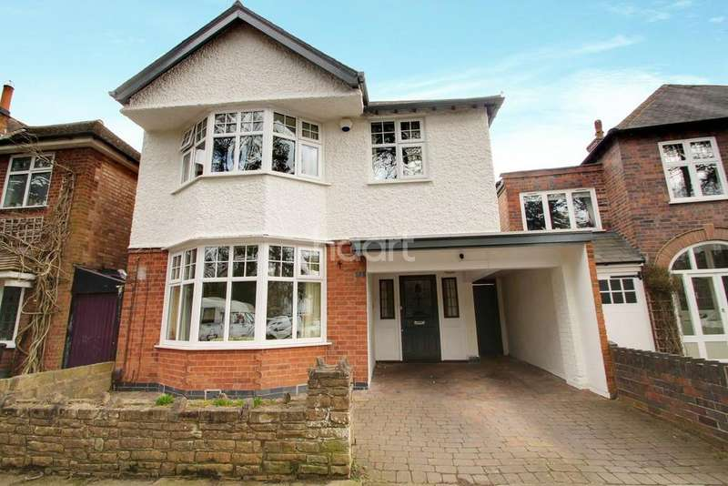 4 Bedrooms Detached House for sale in Western Park Road, Western Park, Leicester