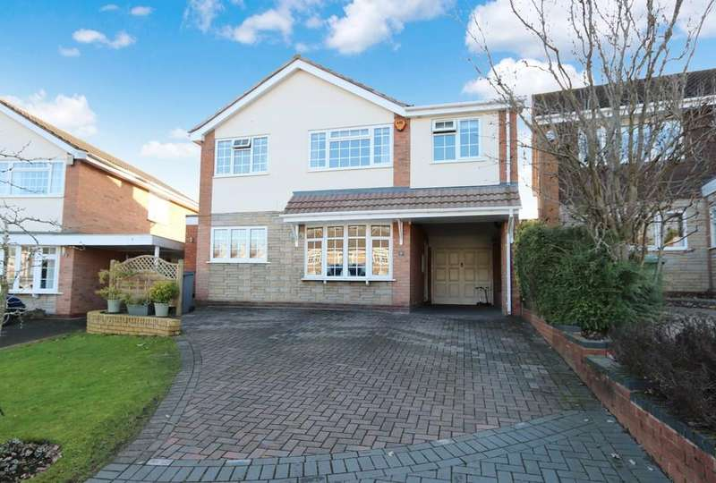 4 Bedrooms Detached House for sale in Langfield Road, Knowle