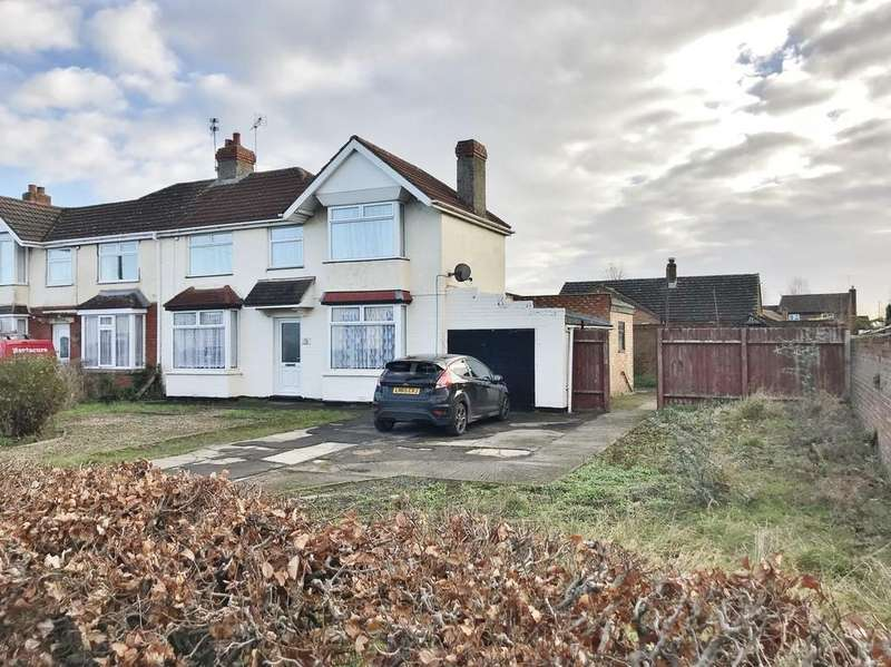 3 Bedrooms Semi Detached House for sale in Swindon Road, Stratton St. Margaret