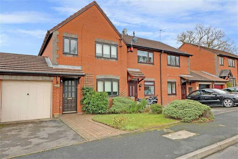 3 Bedrooms Terraced House for sale in Elkington Rise, Madeley, Near Crewe