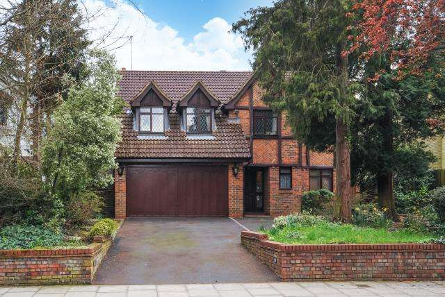 5 Bedrooms Detached House for sale in Oakleigh Park South, Oakleigh Park, N20, N20