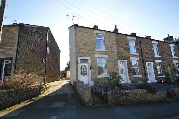 2 Bedrooms End Of Terrace House for sale in 335 Hadfield Road, Hadfield, Glossop, Derbyshire