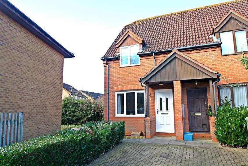 2 Bedrooms End Of Terrace House for sale in Isaacson Drive, Wavendon Gate, Milton Keynes