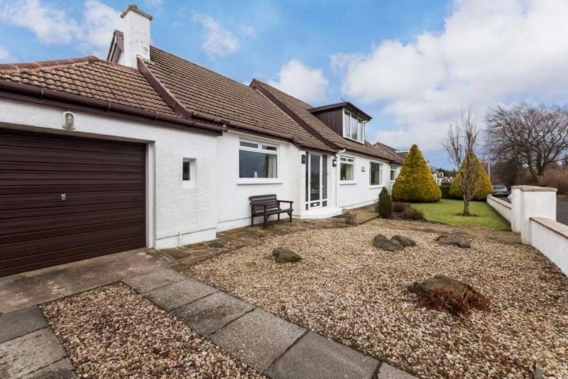 4 Bedrooms Detached Bungalow for sale in 26 Alnwick Drive, Eaglesham, G76 0AZ