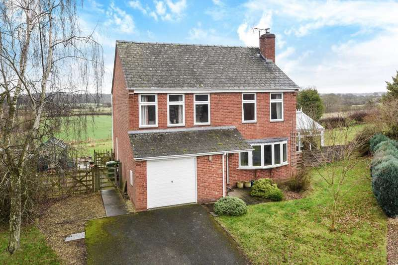 5 Bedrooms Detached House for sale in Luston, Herefordshire, HR6