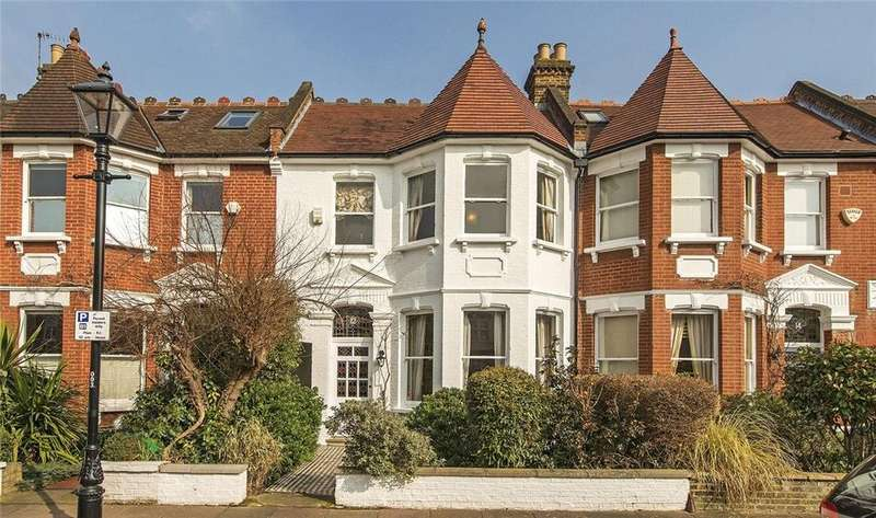 5 Bedrooms Terraced House for sale in Hillersdon Avenue, London, SW13