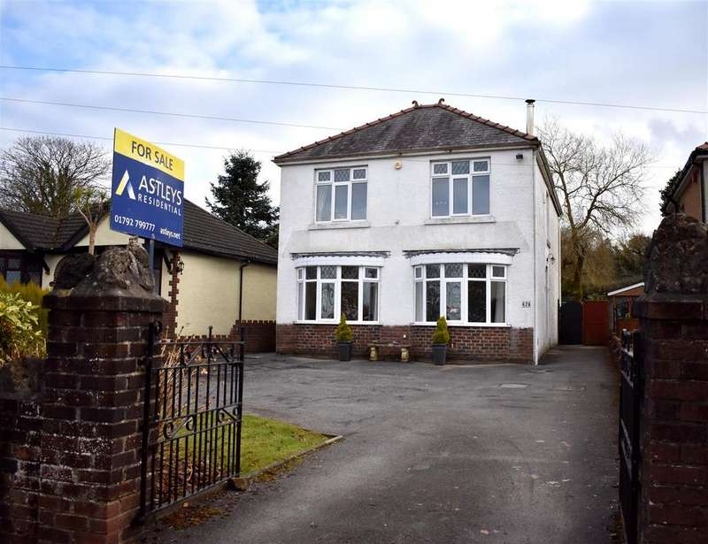 4 Bedrooms Detached House for sale in Birchgrove Road, Birchgrove, Swansea