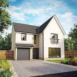 4 Bedrooms Detached House for sale in Plot 67, Willow Garden Room, Dovecot Grange, Haddington, East Lothian
