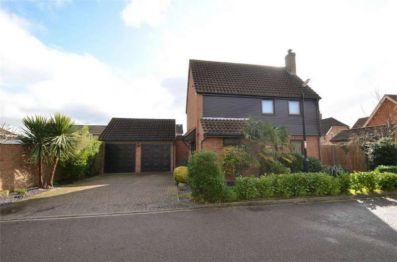 3 Bedrooms Detached House for sale in Elm Farm Close, CLIFTON, Bedfordshire