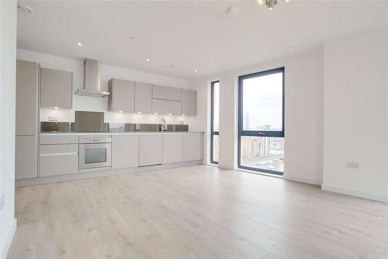 2 Bedrooms Flat for sale in Roosevelt Tower, Williamsburg Plaza, Prestons Road, London, E14