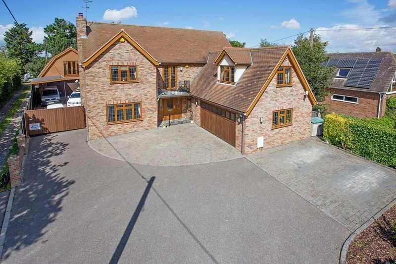 5 Bedrooms Detached House for sale in Fambridge Road, Althorne, CM3